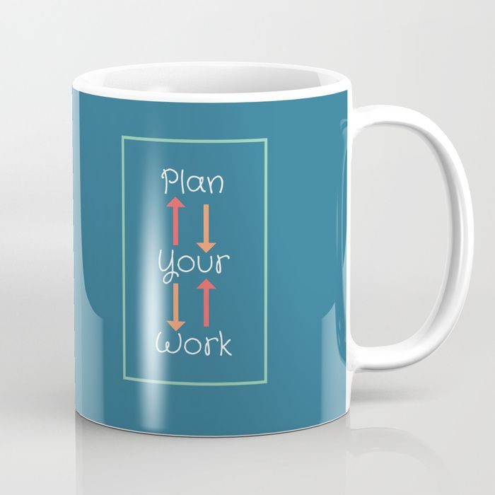 #success #motivation #achieve #mugs #kitchen #homedecor #blue #student #work #society6