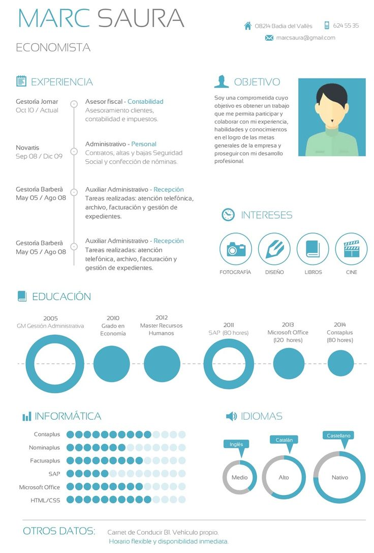 120 best CV images on Pinterest | Resume design, Cv template and ...