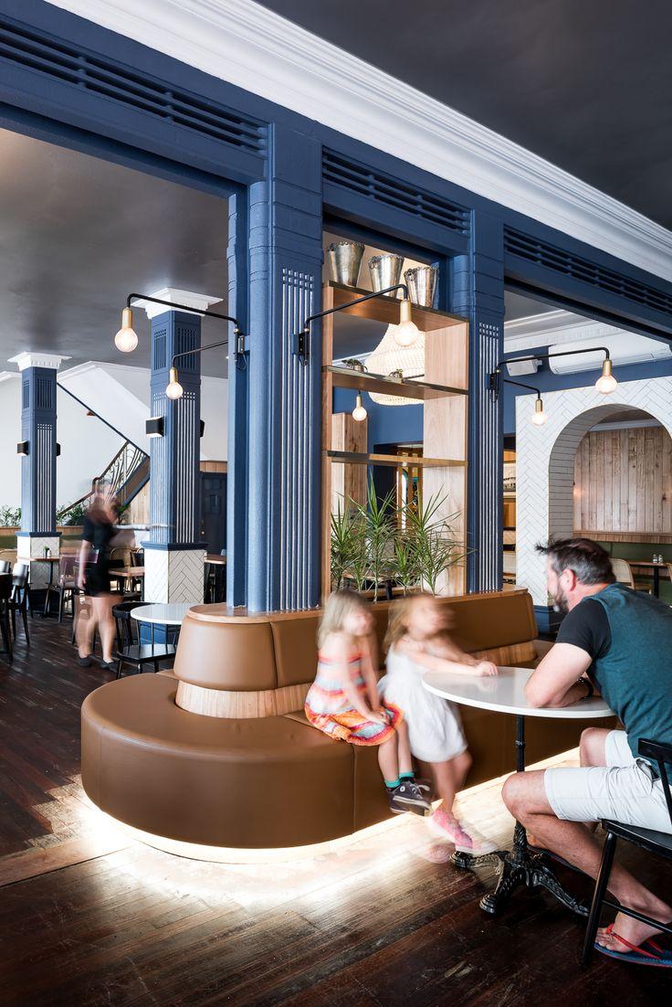 Hospitality Design by Benson Studio. Restaurant at the Historic Rose Hotel in Western Australia