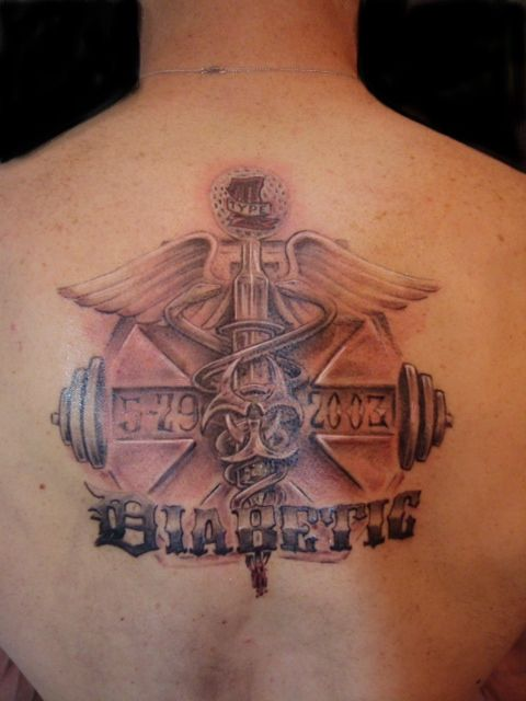 94 best diabetic tattoos images on pinterest diabetes for Pictures of diabetic tattoos