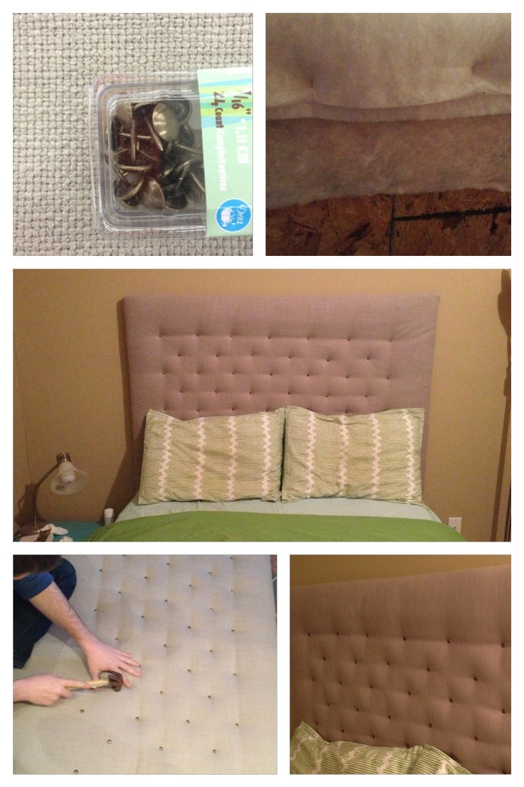 how to make a headboard with plywood and fabric