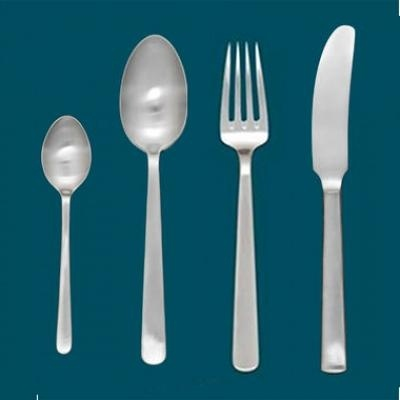 Kay Bojesen Grand Prix cutlery/flatware  Dinner knife, dinner fork, dinner spoon, and tea spoon.