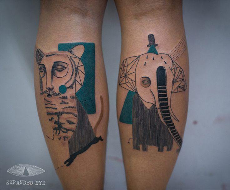 http://muycompartible.com/tatuajes-cubistas/