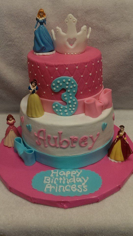 Happy Rd Birthday Princess Cake Images