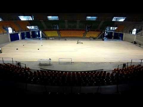 Levigatura pavimento sportivo #sapevatelo #DallaRiva