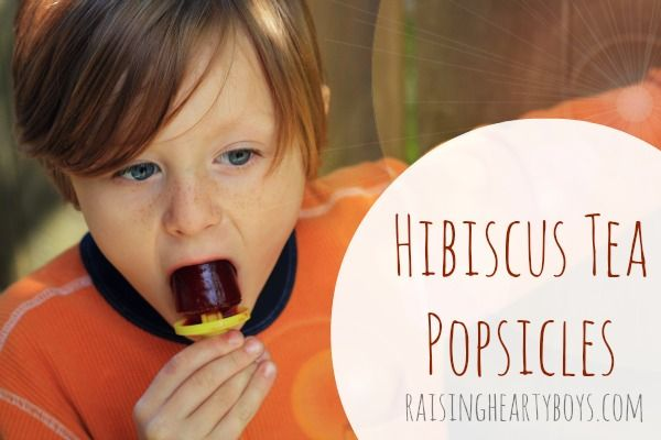healthy, delicious alterntive to store bought popsicles.