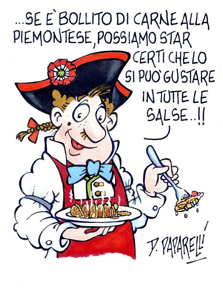 Bollito misto alla Piemontese con salse #bollito #carne #secondo #piemonte