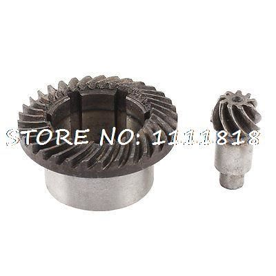 17.44$  Watch now - http://aliy5g.shopchina.info/go.php?t=1985110753 - 30mm Inner Dia Metal Spiral Teeth Bevel Gear Drill Set  #magazineonlinewebsite