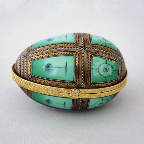 Caja de porcelana con forma de huevo Viloop