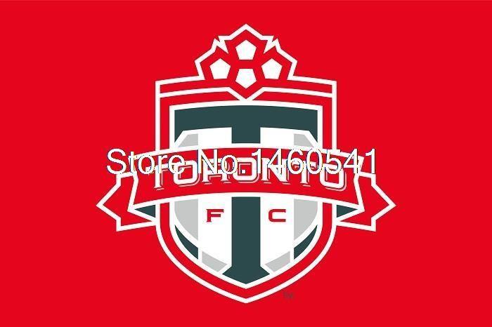 ФК торонто II Флаг 3ft x 5ft Полиэстер Северной Американский Футбол USL Pro Размер Баннера 4 144*96 см QingQing Флаг