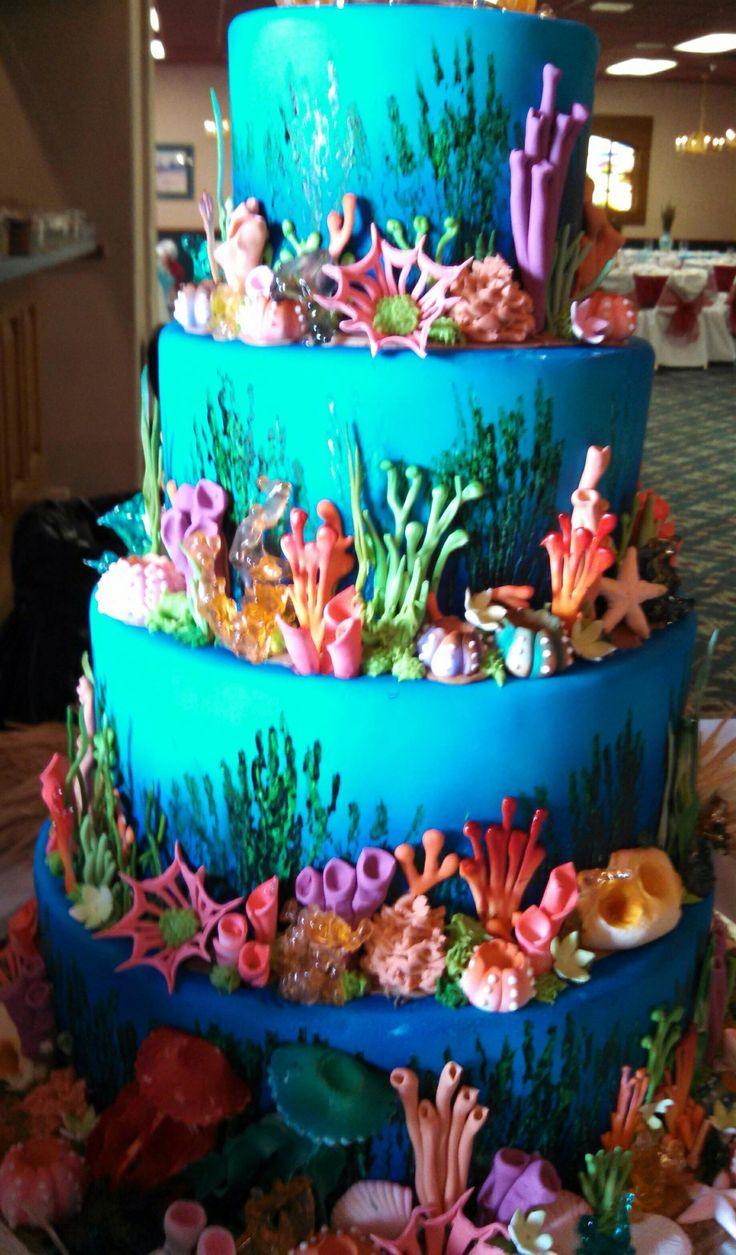 Aquarium Birthday Cake Pictures