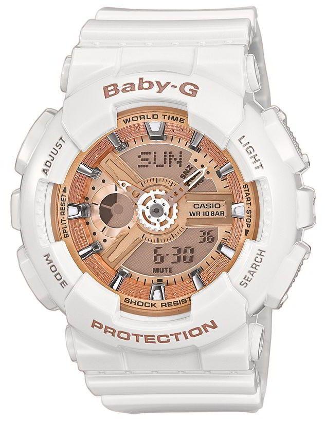 Casio Baby-G Uhr BA-110-7A1ER G-Shock Look weiß Damenuhr http://www.uhren-versand-herne.de/casio-baby-g-uhr-ba-110-7a1er-g-shock-look-weiss-damenuhr.html