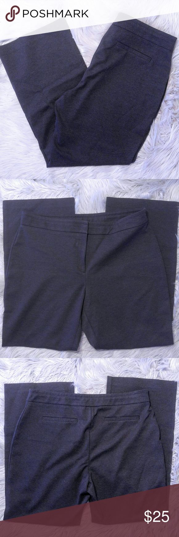 Chico's Gray Stretch Dress Pants Chico's Gray Stretch Dress Pants Excellent condition just dry cleaned size 3 in Chico's. Chico's Pants Boot Cut & Flare