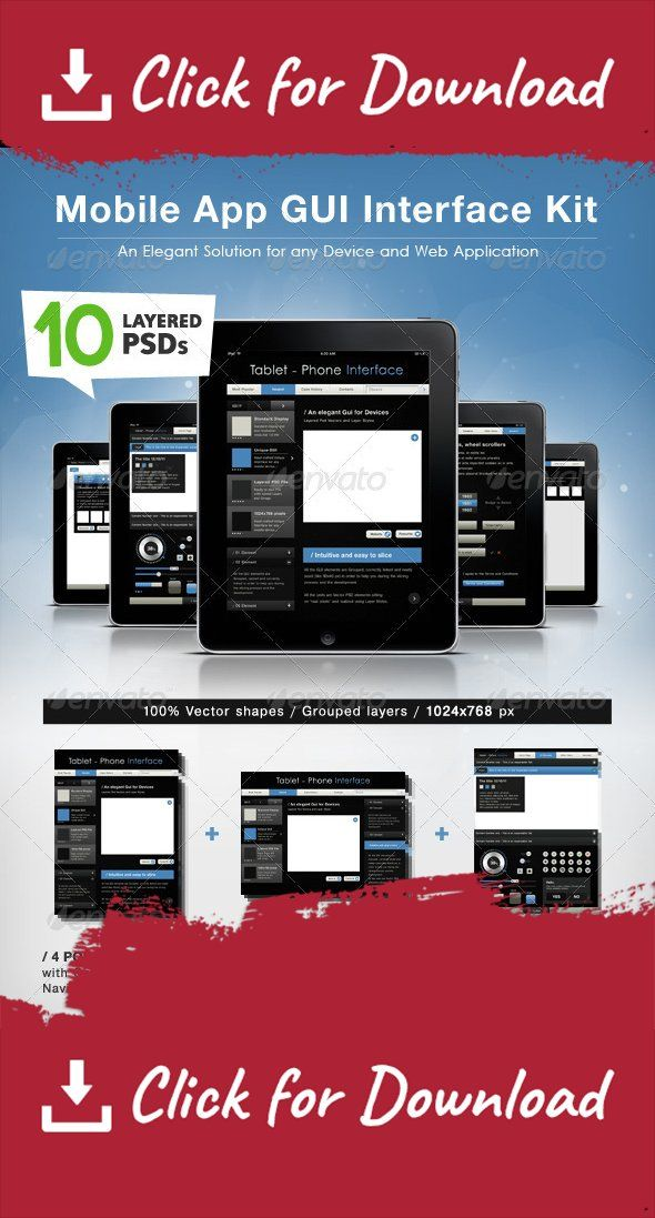 app, application, Application Tablet, buttons, clean, dark, elegant, fresh, gui, interface, interface elements, layout design, minimal, mobile, modern, phone, Phone GUI, retina display, scrollbar, sleek, sliders, tablet, Tablet GUI, web 2.0, web elements, wireframe application, Wireframe layout This a Tool for designing any Professional Business Application The Actual Presentation shows you this Kit applied to a Tablet Application, but this elements can be used for designing any web/mobile…