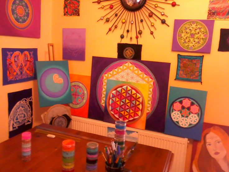 My painting area  :)
