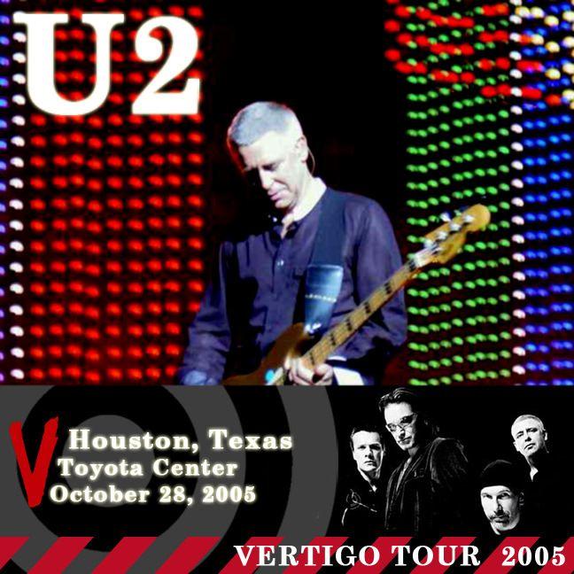 U2 -Vertigo Tour -28/10/2005 -Houston, TX USA -Toyota Center
