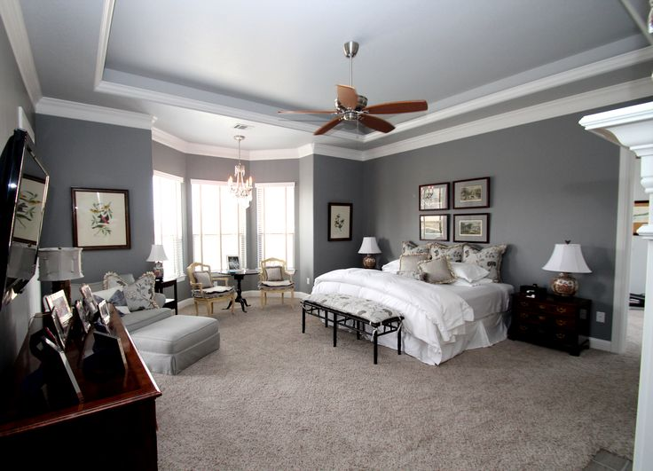 Couto Homes Paint Color Scheme Walls Sherwin Williams Gray
