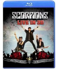 Scorpions: Live - Get Your Sting & Blackout [Blu-Ray]
