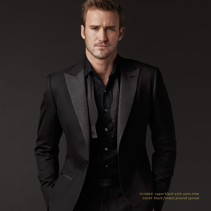 black formal attire