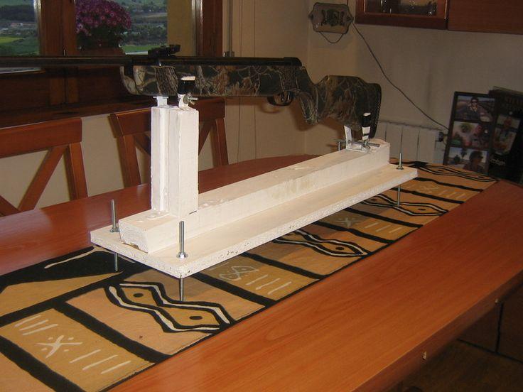banco de tiro artesanal en madera - Buscar con Google