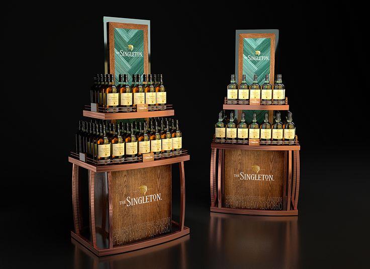 Ознакомьтесь с моим проектом в @Behance: «Singleton whisky POSM» https://www.behance.net/gallery/42729925/Singleton-whisky-POSM