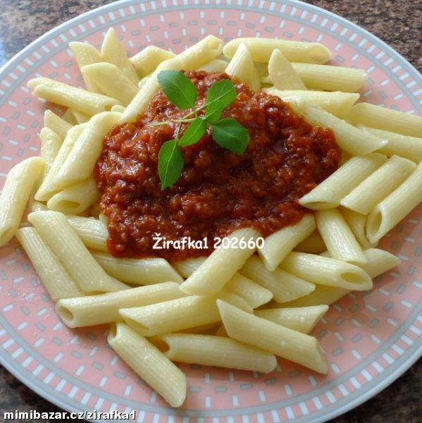 Boloňská omáčka z čerstvých rajčat