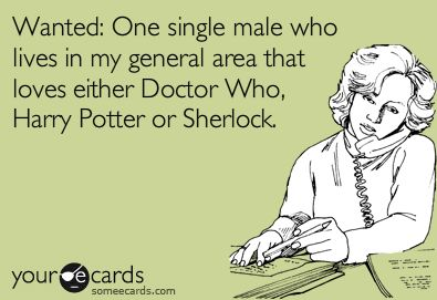 Or all three.  Bonus points for all three. And Firefly too. And Merlin. You know what...I'm gonna have to make a list...a LOOONG list