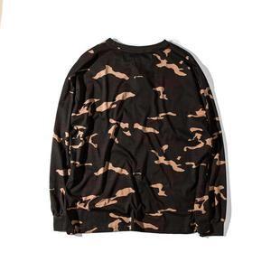 Purpose Tour Camouflage Military T Shirt Men Hip Hop Loose Style Oversized  T-Shirts 2017 sweatshirt