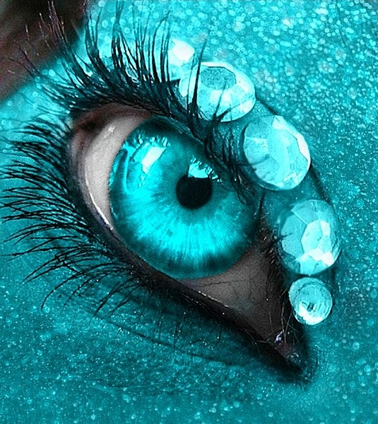 Ice blue contacts contacts for eye 39 s pinterest - Is turquoise green or blue ...