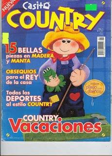 TODAS LAS REVISTAS DE MANUALIDADES GRATIS: Revista Casita Country