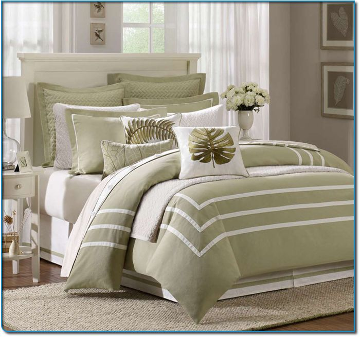 Best Bright Bold And Beautiful Bedspreads Images On Pinterest - Contemporary green comforter set