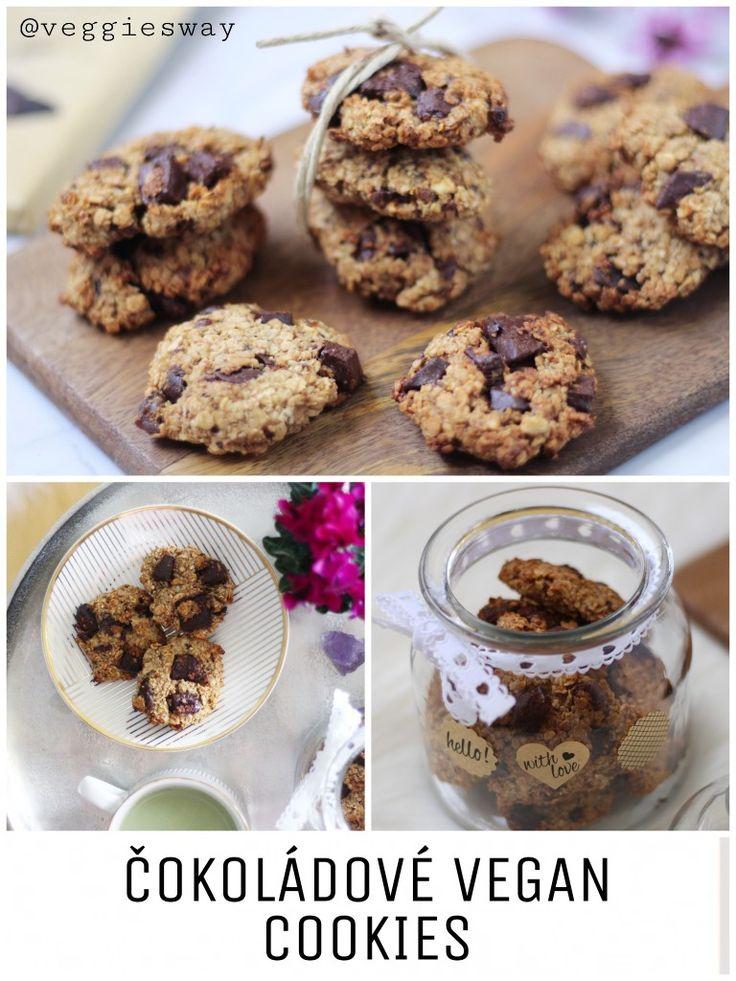 Čokoládové Cookies - Vegan