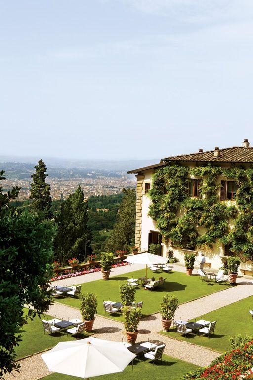 condenasttraveler:  Luxury in Florence   Villa San Michele, Fiesole