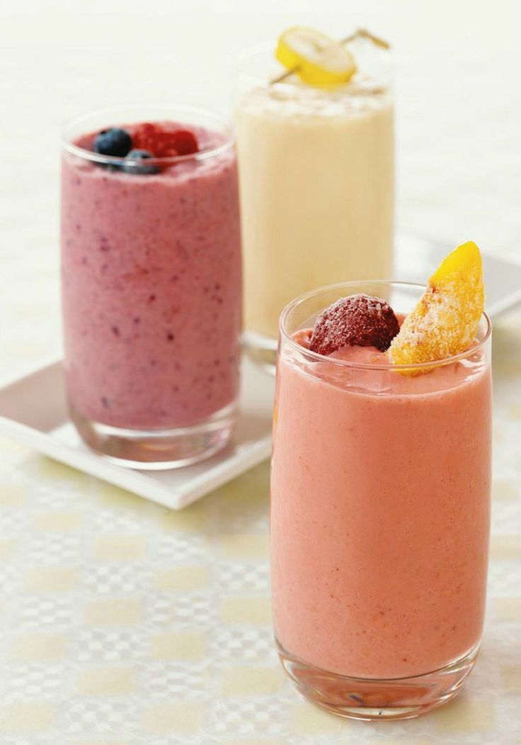 Mixed Berry Smoothie — Sure, this recipe is made with frozen mixed berries. But strawberry fans will appreciate the triple-action effect: strawberry yogurt, JELL-O and just 10 minutes to make.