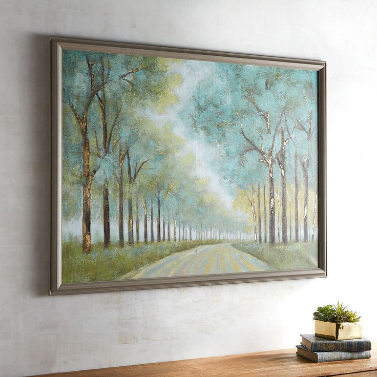 Our Hand Painted Wall Art Features A Peaceful Path That Instantly Leads Tou2026  Framed ArtPathsPier 1 ... Part 63