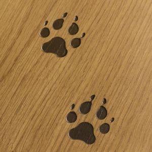DESIGN - Traks Planks - Wolf's footprints. Tracce di listoni impronte di lupo. #cadorin engineered wood flooring