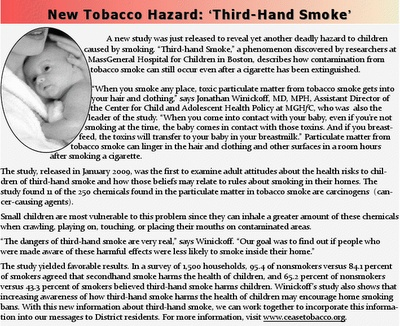 Secondhand Smoke Facts  CDC