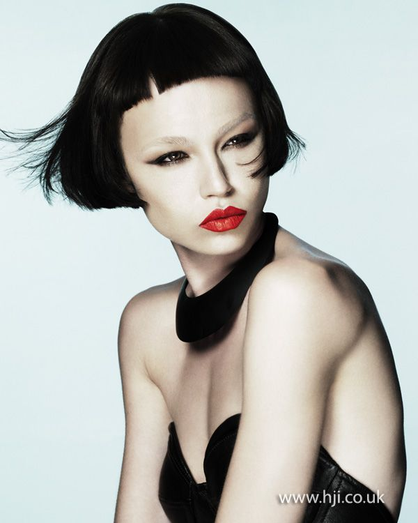 James Whyte 2012 Midlands Hairdresser of the Year Finalist BHA