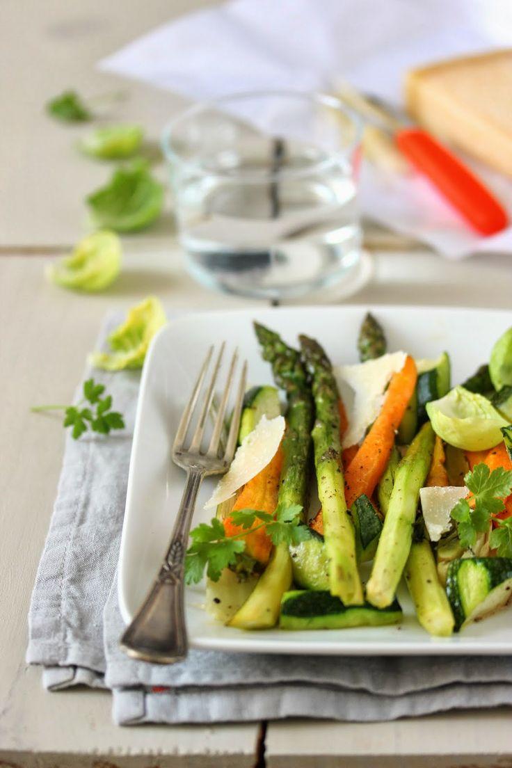 Petits légumes de printemps rôtis - Dans la cuisine de Sophie