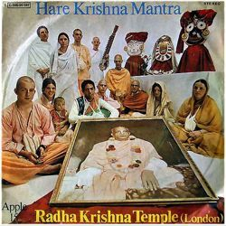 The record that put the Hare Krishna Mantra at the top of the pop charts in Europe in 1969