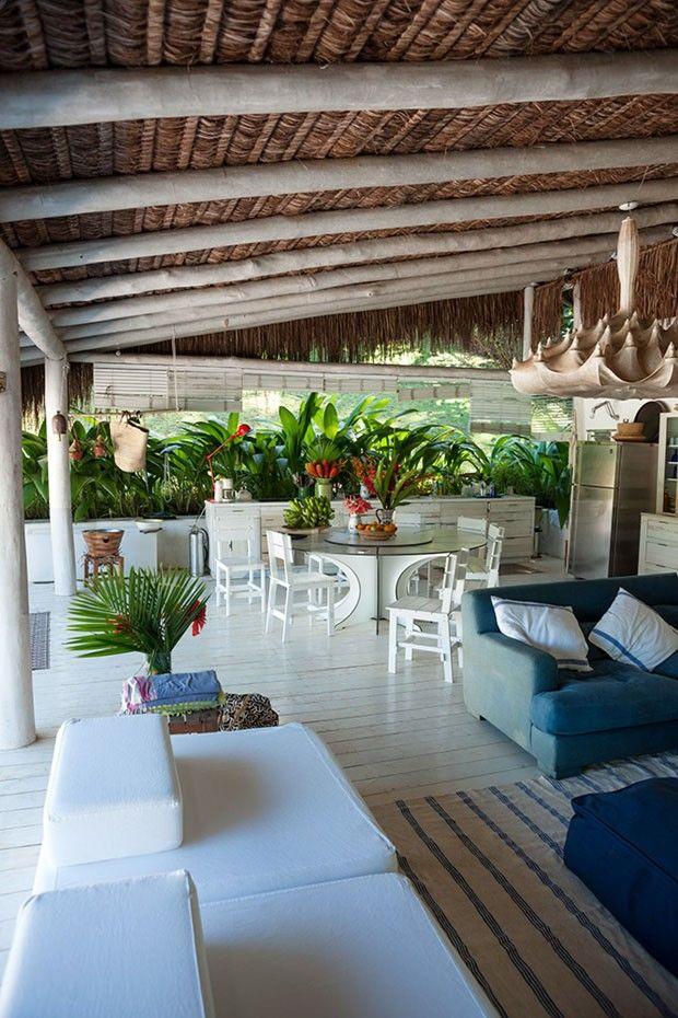 Sonho tropical em Paraty. Design Hotels arma hospedaria temporária
