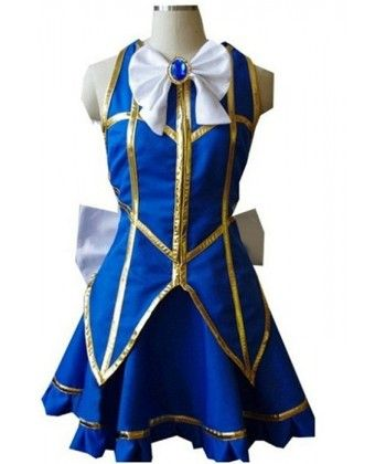 Fairy Tail Lucy Cosplays + Dresses + Boots + Wig
