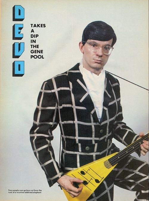 Devo - Mark Mothersbaugh Looking Fly!