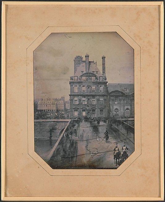 Défilé sur le Pont-Royal: May 1, 1844
