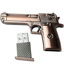 8 GB Flash Drive PISTOL Memory Stick METAL Gun Thumb USB 2.0 NEW Cool