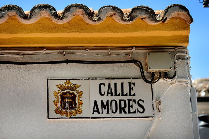 Calle Amores. Streets Of Ronda. Spain by Jenny Rainbow