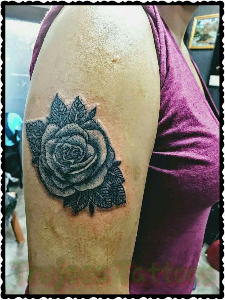 Fiji Tattoo Rose Tattoo by Paul Sosefo