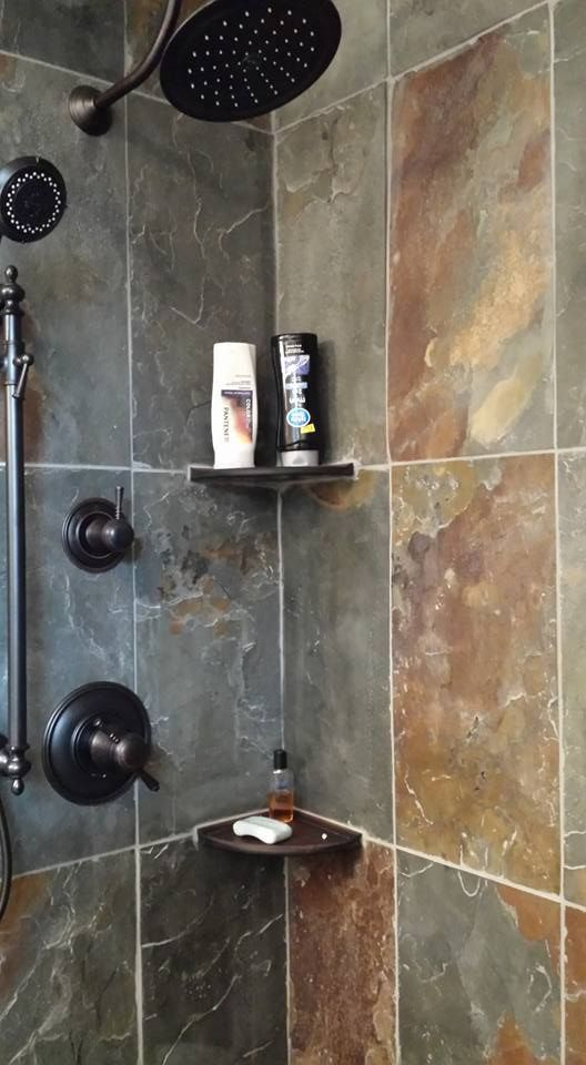 31 Best Images About Our Bathroom Tile Work On Pinterest