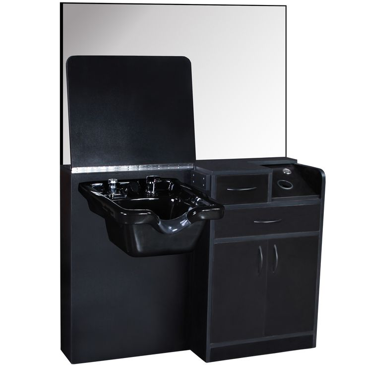 Salon Equipment Wet Styling Station with Cabinet Amp ABS Shampoo Bowl Su 01D | eBay