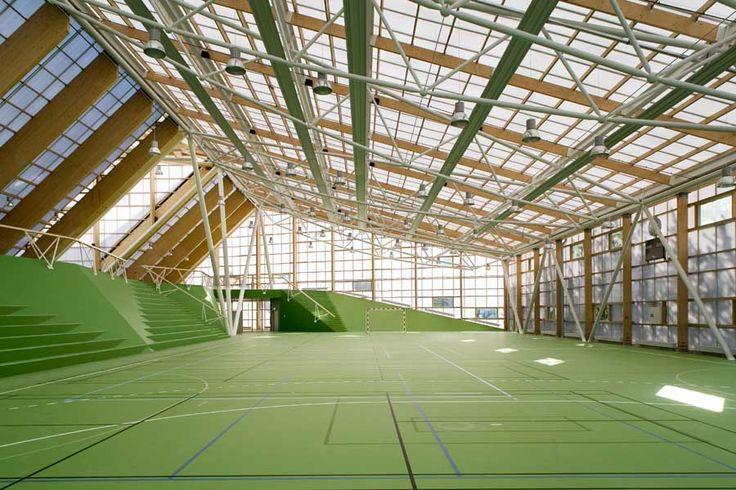Sports and Culture Centre, Holmbladsgade Copenhagen  Design: Dorte Mandrup Arkitekter